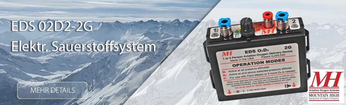 Elektronisches Sauerstoffsystem Mountain High Aviation Oxygen Sy