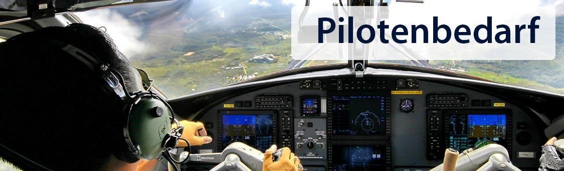 Pilotenbedarf, Pilotenausrüstung, Piloten