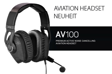 AKG AV100 - Aviation Headset