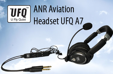 ANR Aviation Headset UFQ A7