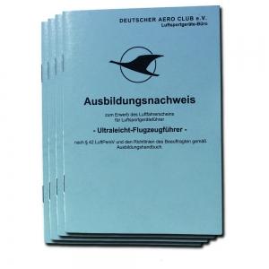 AW.004 Ausbildungsnachweis UL