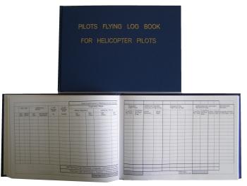 FB.012 Flugbuch für Helikopter