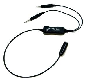 H.043a Headset Adapter David Clark