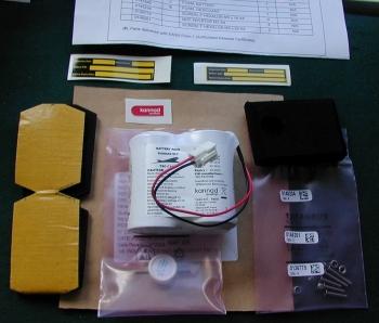 NA.002a KANNAD/COMPACT BATTERIE KIT P/N BAT200
