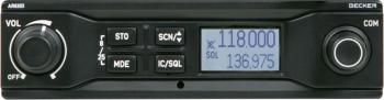 F.028 Flugfunkgerät Becker AR 6203-(022) 6W, 8,33kHz.
