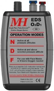 MH.004.1 Elektr.Sauerstoffsystem EDS 02D1-2G o.Druckminderer