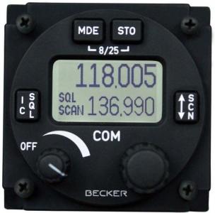 F.014.9 Funksprechgerät/Bodenfunkstelle Becker GT6201,10 Watt