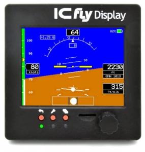 EF.027.1 ICfly Display -  Flexibel einsetzbares Fluginstrument