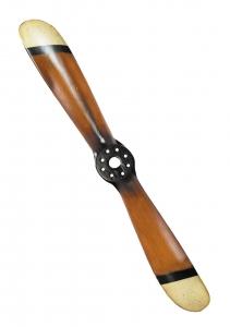 GA.004.7 Mini-Deko-Propeller weiß/schwarz