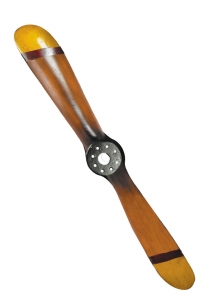 GA.004.6 Mini-Deko-Propeller gelb/rot