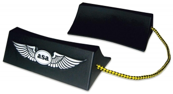 W.015 ASA Flugzeug-Bremsklötze aus Kunststoff ( 1 Paar)