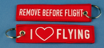 RBF.092 Remove before Flight I love Flying