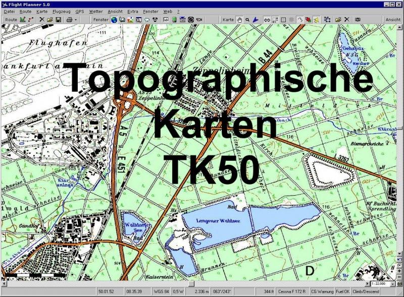 topographische karte hessen