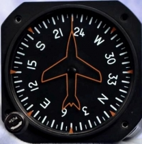 KK.006 Falcon Gauge PH3 Kurskreisel pneumatisch