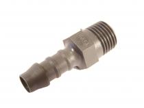 AF.001 Anschlussfitting gerader Anschluss,Plastik, 3/8Zoll 9,5mm