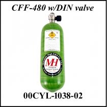 SFL.005 CFF 480 Glasfaserflasche 2,5 Ltr.