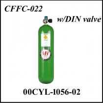 SFL.006 CFFC-022 Kohlefaser US-Flasche