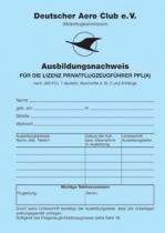 AW.001 Ausbildungsnachweis PPL-A JAR-FCL