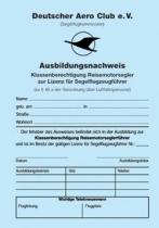 AW.002 Ausbildungsnachweis TMG Reisemotorsegler