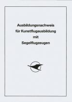 AW.007 Ausbildungsnachweis für Kunstflug mit Segelflugzeugen