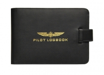 FB.014 Leder-Schutzhülle Pilot Logbook