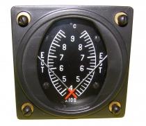FG.002 EGT/EGT Abgas Temperatur Anzeige Doppelinstrument