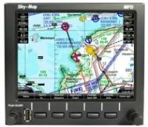 G.025 Sky-Map MFD Einbau Navigationssystem mit AHRS