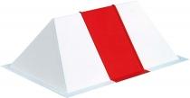 W.024 Dachreiter weiß/rot