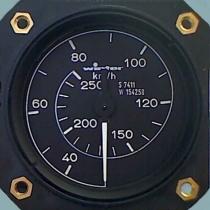 FM.0006 Winter Fahrtmesser EBF mit 1 1/2-facher Zeigerumdrehung