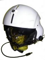 PH.006.1 Helikopter Einfachvisier, Farbe weiß