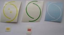 FM.013a Farbmarkierung für Fahrtmesser 57mm Einbaumaß