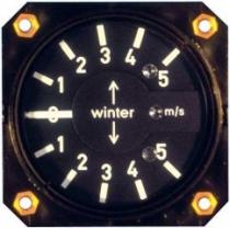 VM.013 Winter Stauscheiben-Variometer 5 StVM 57mm Einbaumaß
