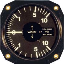 VM.014 Winter Stauscheiben-Variometer 5 StVL 80mm Einbaumaß