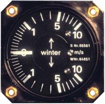 VM.015 Winter Stauscheiben-Variometer 5 StVLM