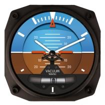 GA.010g Wanduhr im Cockpit-Design Horizont Vacuum