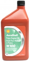 OIL.3 AeroShell Oil W100 - 1 qt/946ml