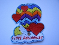 Aufnäher Nr.4 I love Ballooning
