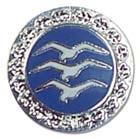 Segelfliegerabz.Nr.6 Silber-C Schwinge 15mm