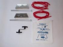 W.021.1 Torky Flugzeug-Verankerungsset Set (2 Befestigungseinh.)