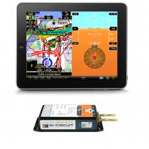 EF.027 ICflyAHRS II m.Drucksensorik,WiFi mit 2xRS232-WiFi Brücke