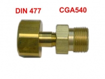 MH.001l EDS Adapter CGA-540 auf DIN-477