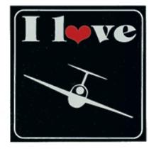 ST.38 1 love Segelfliegen