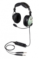 H.043.6 David Clark ONE-X Hybrid ENC Headset,aktiv m.PJ-Steckern