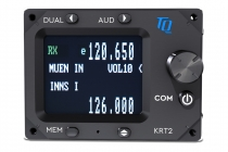 F.015.3 KRT2-L (Landscape) Mini Flugfunkgerät 8,33 kHz.(TQ/Dittel Avionik)