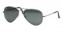 SB.010 Ray Ban Sonnenbrille Aviator Large Metal gunmetal Gr.55mm