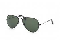 SB.011 Ray Ban Sonnenbrille Aviator Large Metal schwarz Gr.55mm