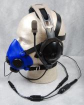 MH.001p MH AMSK0-0106-00 Adapter von Alp Mask zum GA-Headset mit Lemo-Stecker