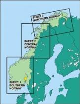 ICAO-EN Digitalisierte ICAO-Karten Norwegen komplett