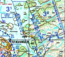 ICAO-ENS Digitalisierte ICAO-Karten Norwegen Süd