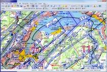 V500-CH Digitalisierte Karte DFS Visual 500 Schweiz